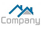 Zwei H�user Logo