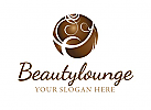 Logo f�r Fris�r, Kosmetik oder Wellness
