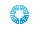Zahn Logo Strahlen