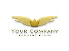 Krone mit Flügel Logo
