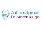 zahnarzt logo schweif