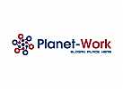 Planet Kugel Telekommunikation Internet Logo
