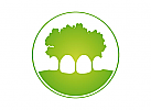 Zahnarzt Logo Baum