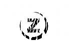 Logo Safari Initial Z als Zebramuster