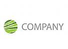 Zweifarbiger Kreis Logo