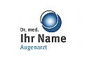 Blaue Kugel Logo
