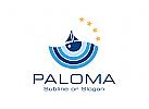Logo für Bootstouren, Segelclub, ...