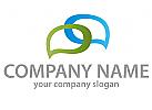 Sprechblasen Logo
