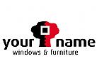 Baum mit Gehrungsschnitt für Schreiner, Fensterbauer, Möbelbranche