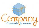 Geschenk, Schleife, Geschenkartikel oder Spielwaren Shop