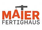 Logo für Baugewerbe, Bauindustrie, mit Kran