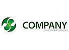 Zwei Pfeile in Kugel Logo
