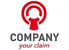 Person im Kreis Logo