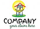 lachendes Haus Logo