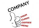 Daumen hoch Logo