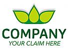 drei Blätter Krone Logo