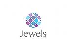 Logo Juwelier, brilliant