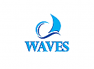 Wave Logo Welle Segel