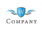 Zeichen, Signet, Logo, Wappen, W