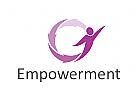 Zeichen, Signet, Logo, Empowerment, Coaching