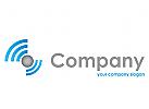 WLAN, Information, Datenverarbeitung, IT, Dienstleistungen Logo