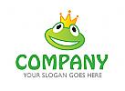 Logo Frosch Krone