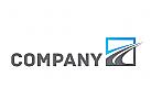 Zeichen, Signet, Logo, Transport, Straße / Welle