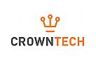 Zeichen, Signet, Logo, Krone, Technik