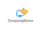 Computer Data Logo