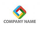 Öko, Zeichen, Zeichnung, Würfel, Cube, Rechteck, Logo