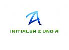 Initialen Z und A