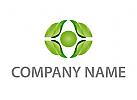 Öko, Wappen, Blätter, Logo