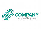 Zwei, Pfeil, Finanzen, Logo