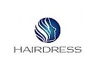 Zeichen, Signet, Logo, Friseur, Hairdresser Kosmetik