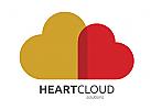 Logo Herz und Cloud