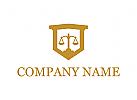 Logo, Anwalt, Rechtsanwalt, Richter, Gericht