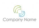 Wellen, Kreise Logo