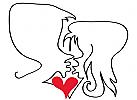 Liebespaar, für Pertnervermittlung, Romantikhotels, Dating