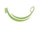 Ökozähne, Zähne, Zahn, Lächeln, Zahnbürste, Zahnspiegel, Logo