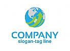 Logo, Business, kugel, erde, Pfeil,Raum, Handel, Handel, Finder,