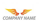 Ökologie, Zwei Flügel, Vogel, Logo