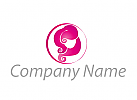 Logo Haare, Fris�r
