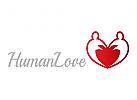 Logo, Menschen, Familie, Pflege, Einheit, Freundschaft, Malerei, , Liebe, Frieden