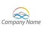 Sonne und Boot Logo