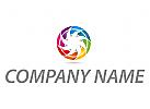 Zoom, Zeichen, Skizze, Video, Spirale, farbig, Logo