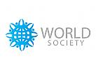 Logo,Welt, Erde, World, Menschen, Union, Gruppen, Sport, Organisationen, Unterhaltung, Kinder