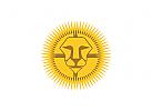 Logo, L�we, Tiere, Sport, Fu�ball, abzeichen, wappen, schild