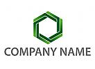 Zeichen, Zeichnung, Symbol, Sechseck, grün, Logo