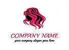 Logo Sch�nheit, Haar, Haarfarbe, Sch�nheitssalon, Friseur, Mode