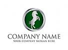 pferd, stallion, Ranch, Reitställe Logo